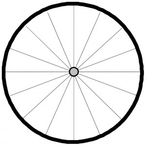 Spokes of the Wheel Bicycle Wheel Graphic