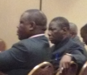 Dr. Chilengi (left) and Dr. Adisa (right).