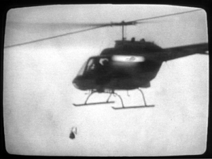 MOVE Bombing 1985g Helicopter Bomb Drop